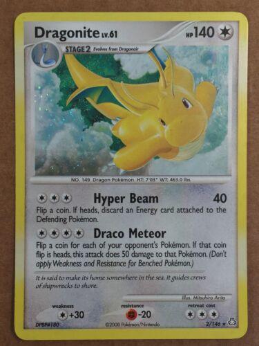 FREE SHIPPING! Pokemon Card Legends Awakened Holo Dragonite 2//146
