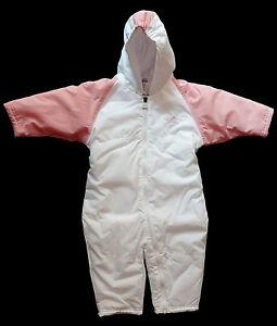 adidas baby m dchen kinder schneeanzug schnee overall snowsuit gr 74 ebay. Black Bedroom Furniture Sets. Home Design Ideas
