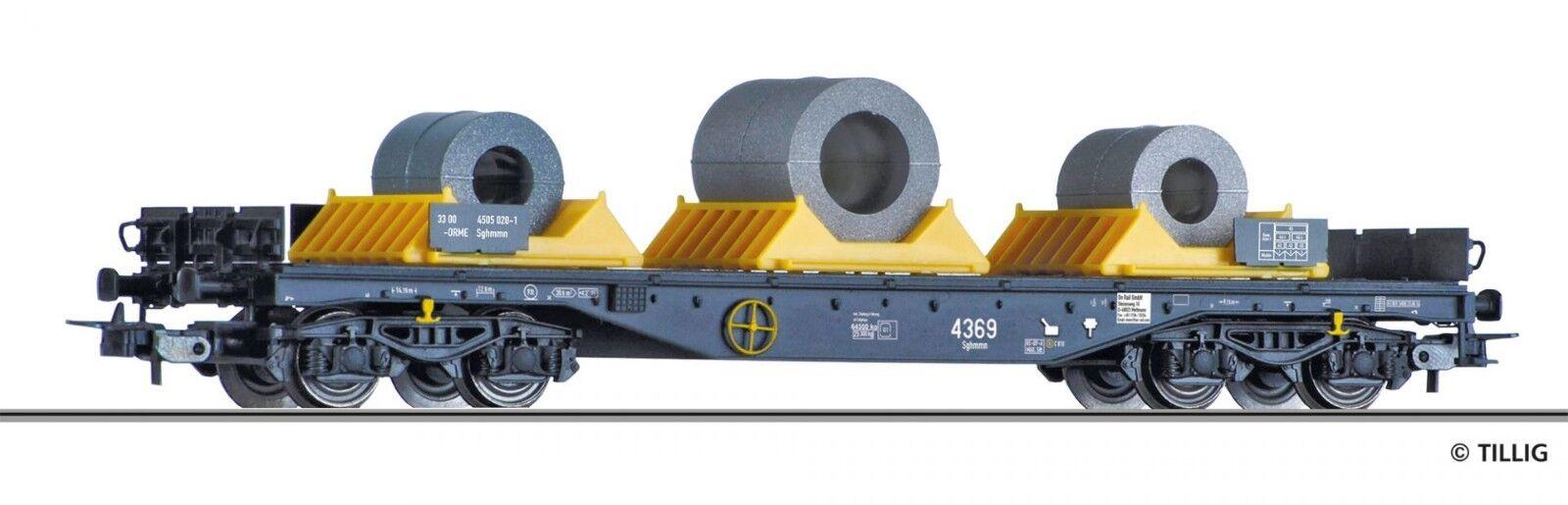 Nuevo-Tillig 76753 coches plana 4505 sgmmns la on rail GmbH, PE vi. h0, embalaje original