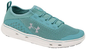 01062fac0a4 Under Armour Kilchis Women's Shoe - Azure Teal / Onyx White - New | eBay