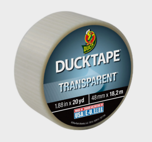 L Red  Duct Tape W x 20 yd Duck  1.88 in