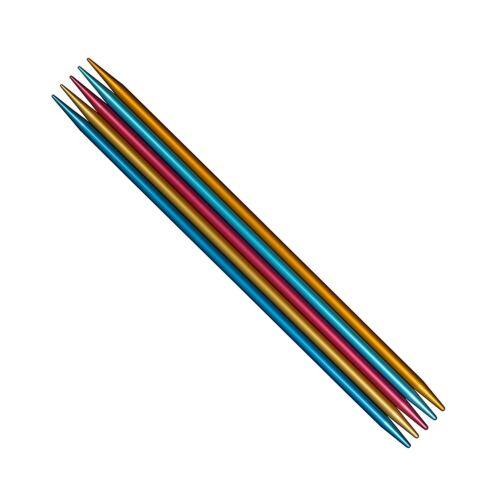 "75 Needles US0 - US11 10 addiLove Full Set of 6/"" addi FlipStix DPN 15 Sizes"