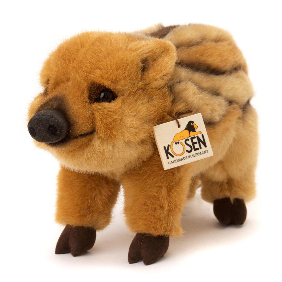 Wild Boar Piglet - collectable plush soft toy - Kosen   Kösen - 3190 - 30cm
