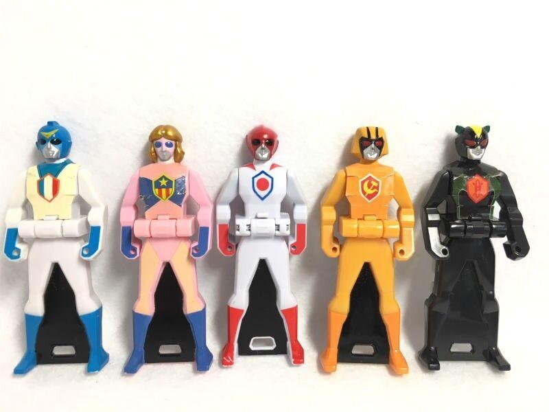 Power Rangers Super Megaforce Gokaiger Gokai key Battle Fever set Japan 6181