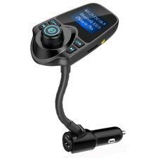 Wireless In-Car Bluetooth FM Transmitter Radio Adapter & USB Car Charger