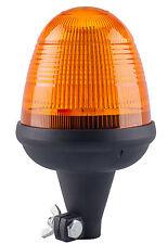 LED Rotante Lampeggiante Color ambra Faro Flessibile DIN Palo Montaggio Trattore