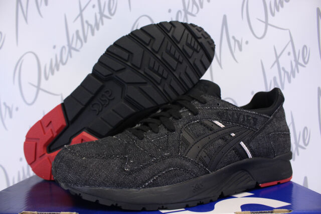 on sale edfcd b02eb ASICS GEL Lyte V 5 Black/black Selvedge Japanese Denim Hn6d3 9090 Men's Sz 6
