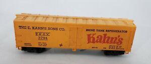 HO-Scale-TYCO-034-Kahn-039-s-Sons-Co-034-Brine-Tank-Reefer-Box-Car-EKSX-3794