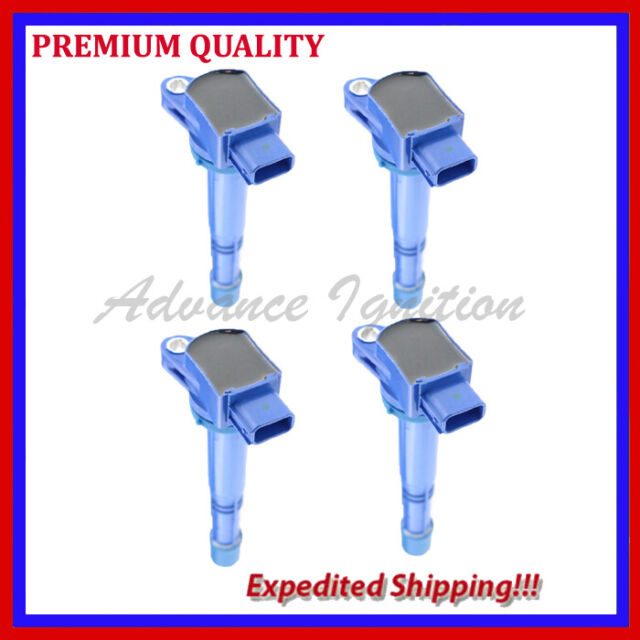 4PC JHD289B IGNITION COIL For 2006 2007 2008 2011 ACURA