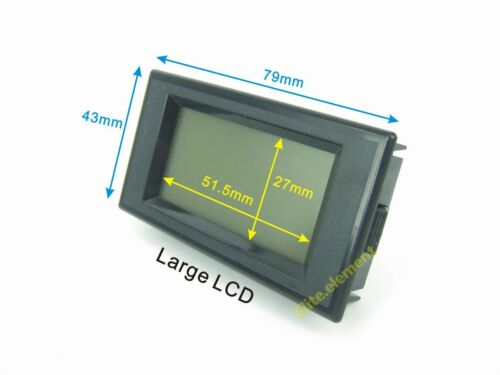 AC 0-100 A AMP Ampèremètre Current Meter avec transformateur de courant AC 110 V 220 V MZ