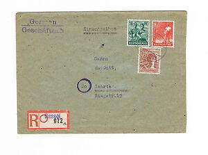 Alibes plus propre r-lettre recommandé à partir de Dassel N. enseignais 12.4.1948 MiNr. a 956-afficher le titre d`origine SO1jGEqI-07163449-299153889