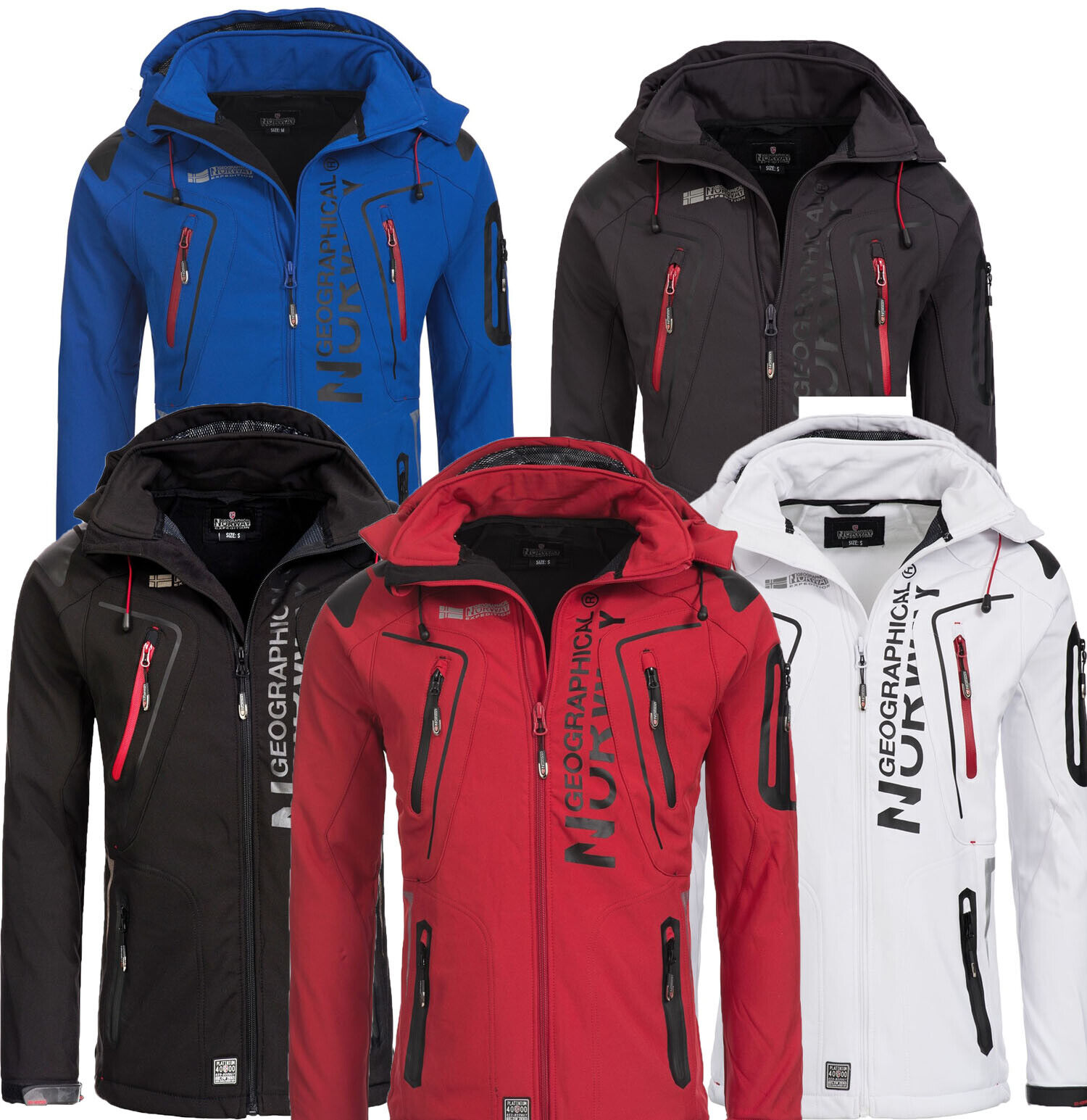 Strong Reduced  Geographical Norway Tangata Men's Softshell Functional Outdoor