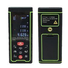 """50m 164ft 2.4"""" Digital LCD Laser Distance Meter Range Finder Measure Diastimeter"""