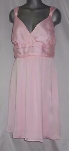 50494cf8a0 Tevolio Size 4 Pink V Neck Tea Length Prom Evening Bridesmaid Dress ...