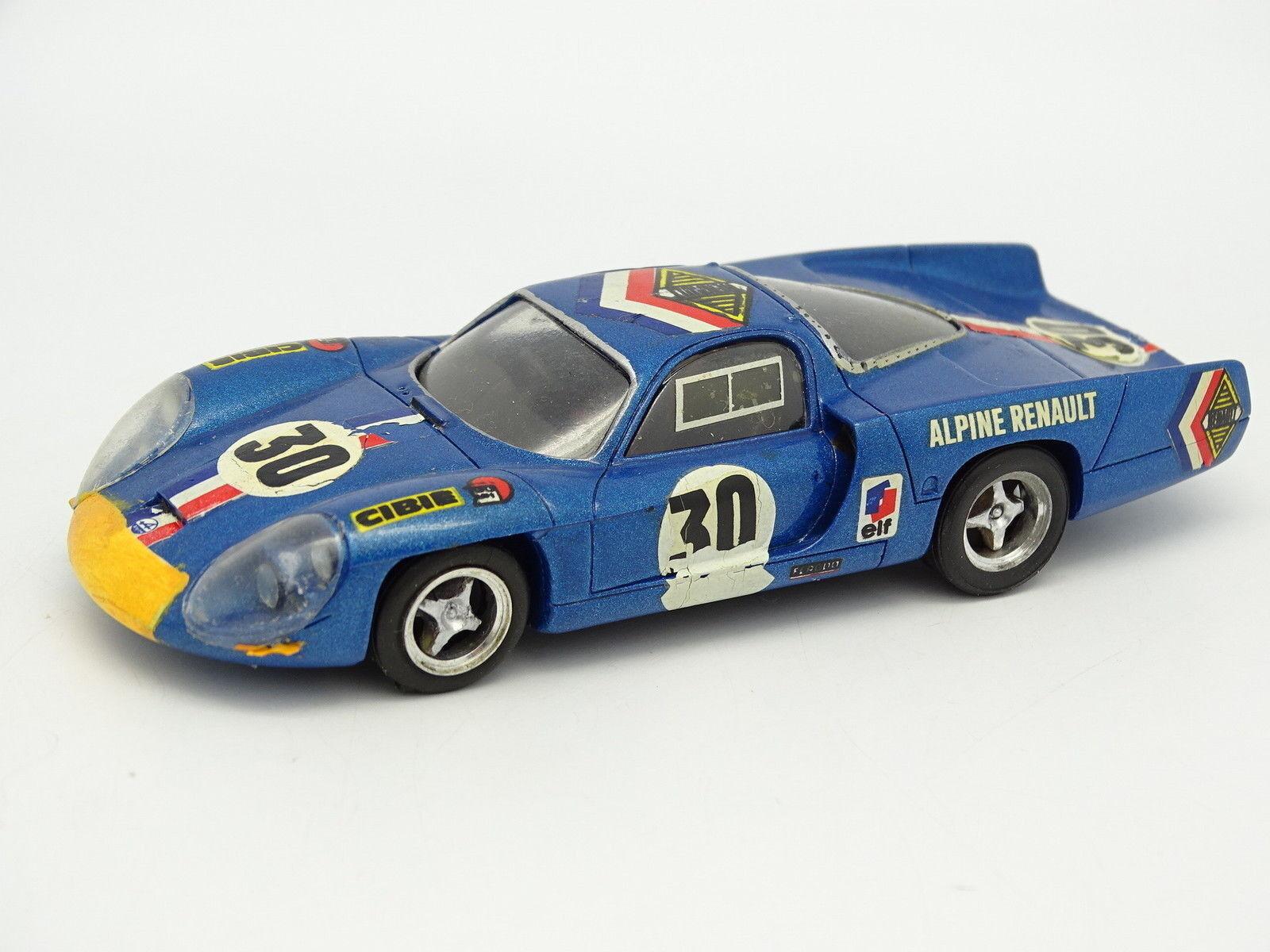 Provence Moulage Kit monté SB 1 43 - Alpine Renault A220 Le Mans 1968 N°30