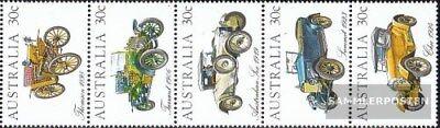 Geschickt Australien 864-868 Fünferstreifen kompl.ausg. Postfrisch 1984 Autos Profitieren Sie Klein