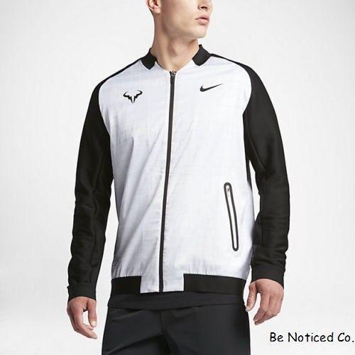Gym Nike Tennis Blanches Nadal Noires Homme Cour Décontracté Rafael Veste Xl ordCQxEBeW