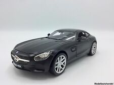 "Mercedes-Benz AMG GT 1:24 MAISTO  "" matte BLACKSeries "" NEU"