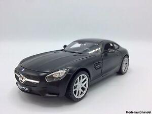 Mercedes-Benz-AMG-GT-1-24-MAISTO-034-matte-BLACKSeries-034-NEU