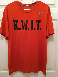 Virginia UVA Cavaliers Women's Basketball Team Issued Nike Dri-Fit Shirt Large
