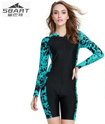 Details about  /SBART Diving Suit Wetsuit Long Sleeves Protection Swimsuit Jellyfish Water Sport
