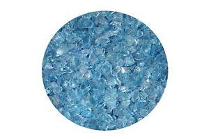 (2,07€/1kg) Glassplitt Ice blue 6-16mm 14Kg Ziersplitt Bastelsplitt