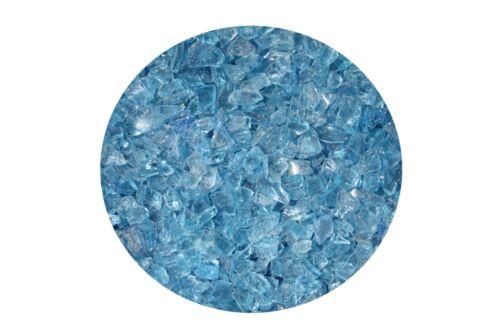 Glassplitt Ice blue 6-16mm im 14Kg Eimer Ziersplitt Bastelsplitt 2,07€//1kg