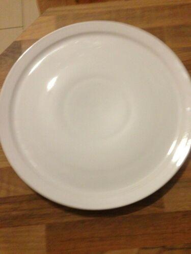 10 Pizzateller Teller Ø 30,3 cm Gastronomiegeschirr Porzellan weiß Neu