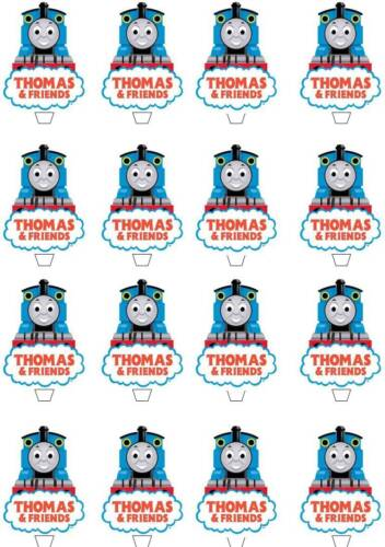 LEVER * 32 Thomas the tank engine Cup Cake Fée GAUFRETTE comestibles riz Toppers