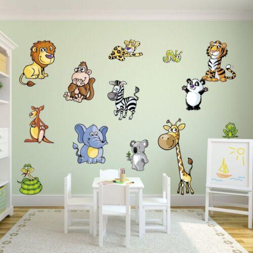 tamaños León Nikima 046 murales agradables animales habitación infantil en 6 versículo