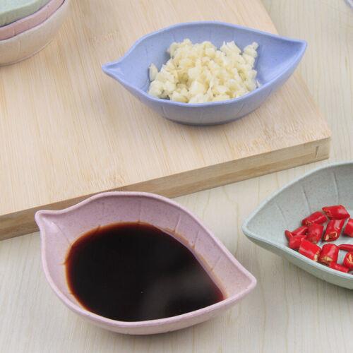 Kitchen Bowl Dish Ceramic Leaf Seasoning Soy Sauce Vinegar Small Plates NEW 2020