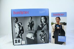 BabyBjorn-Baby-Carrier-One-Black-Mesh-Nice-Condition-Brand-New-Carrier-Cover