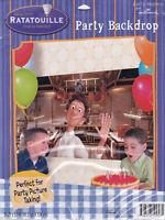 Ratatouille Party Backdrop Decoration Birthday Supplies Poster Disney Pixar