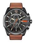 Diesel DZ4343 Mega Chief Men's Chronograph Watch - Black\Brown