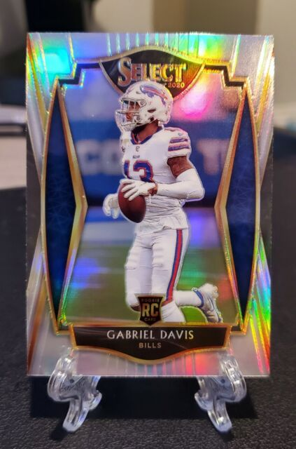 2020 Select Premier Level Gabriel Davis Rookie Card RC #182 Silver Prizm