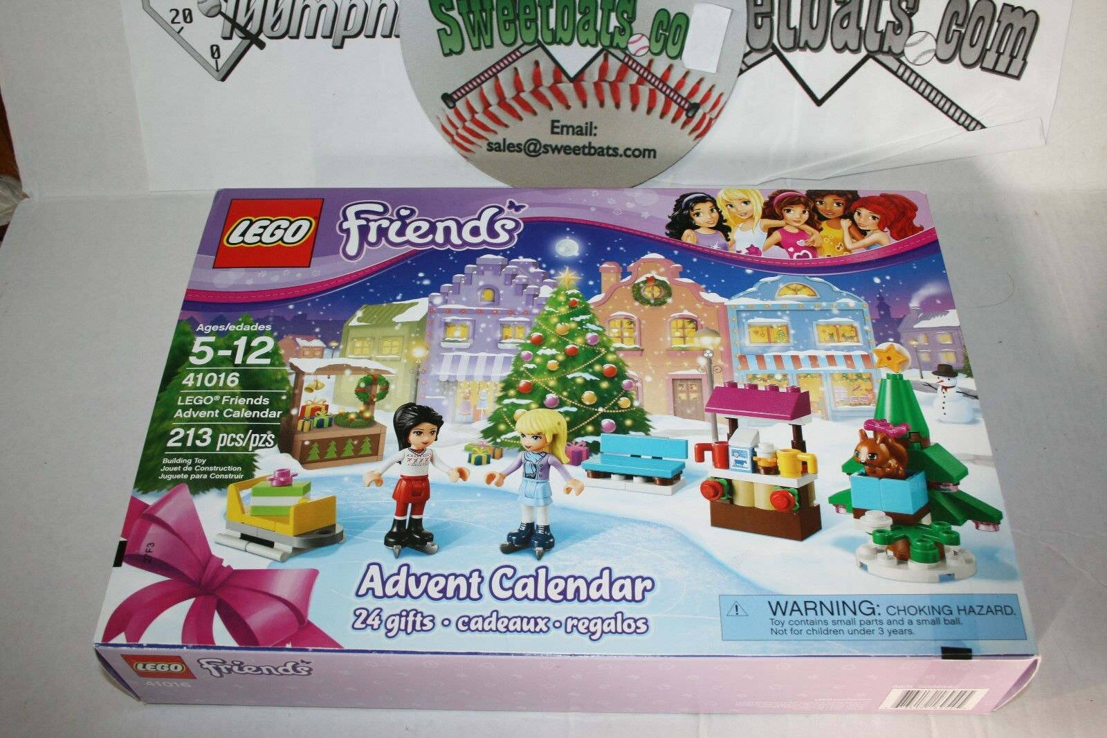 Lego Friends 41016 Advent Advent Advent Calendar NIB New In Box Retired Sold Out Minifig Girls fd6d72