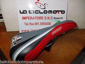 Dettagli Su Sella Bici Bmx Mtb Bicicletta Corsa Rossa Grigio E Nero