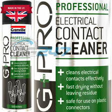 G Pro Electrical Contact Cleaner Spray 500ml Aerosol Can X2 - Granville