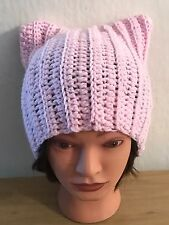Baby Pink Pussy Cat Hat!
