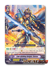 Cardfight Vanguard  x 4 Law-abiding Knight, Cloten - G-BT03/058EN - C Mint