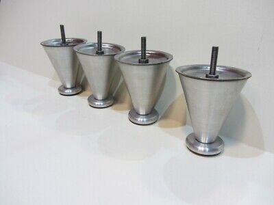 Tischbeine Möbelfüße MS//201 42x15 cm Krom