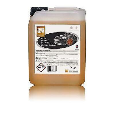 Autoglym Trade Acid Wheel Cleaner Alloy Plastic Brake Dust 5 L Ltr 5 Litre