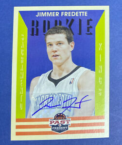 2012-13-Panini-Past-and-Present-Auto-217-Jimmer-Fredette-RC-Shanghai-Sharks