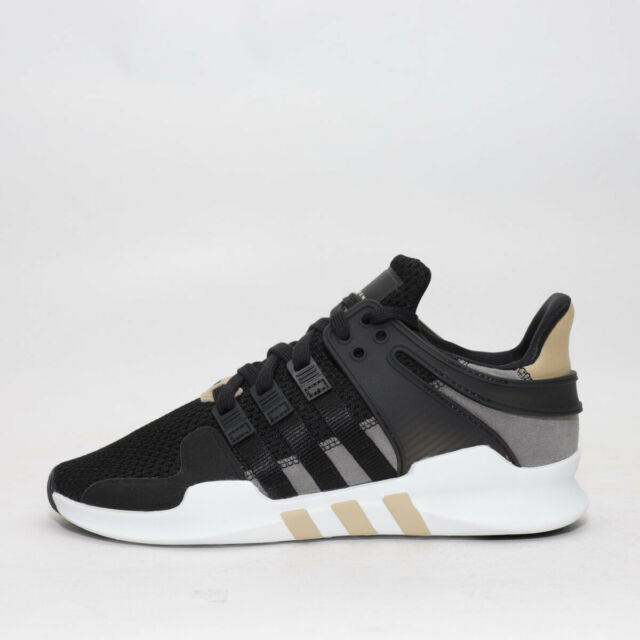 online store cfdba f5ce4 Mens Adidas EQT Support ADV Black/White/Gold Trainers (TGF26) RRP £99.99
