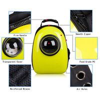 Transparent Pet Cat Dog Carrier Travel Bag Space Capsule Backpack Breathable Bag