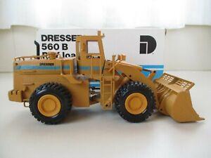 CONRAD-DRESSER-560B-560-B-PAY-LOADER-RUBBER-TIRE-LOADER-1-50-DIECAST