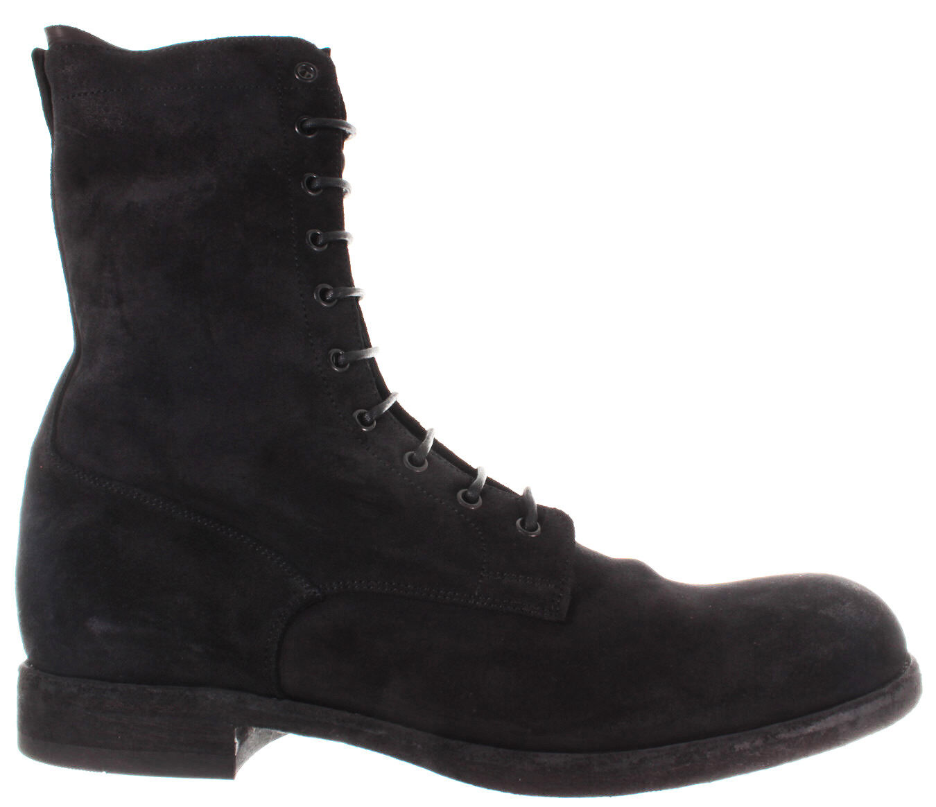 botas Zapatos para hombre PANTANETTI 12026 un Versus negro Raw Negro Adam 920 Gamuza Italia