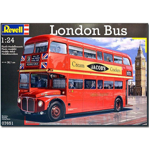 REVELL London Bus Routemaster 1 24 Model Car Kit - 07651