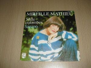 Mireille-Mathieu-Mille-Colombes-Sagapo-7-039-039-45-RPM-Single
