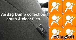 AirBag-SRS-Dump-Collection-with-Crash-amp-Clear-files-Repair-Airbag-Unit